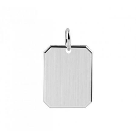 Zilveren Graveer Hanger