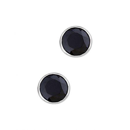 Oorbellen van zilver 10mm