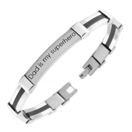 RVS Armband graveerplaat