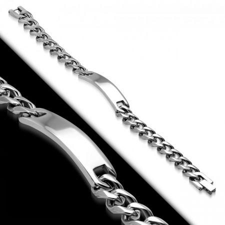 Edelstalen Armband met Gravure